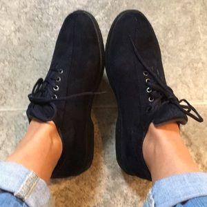 Propet indigo Velour shoes